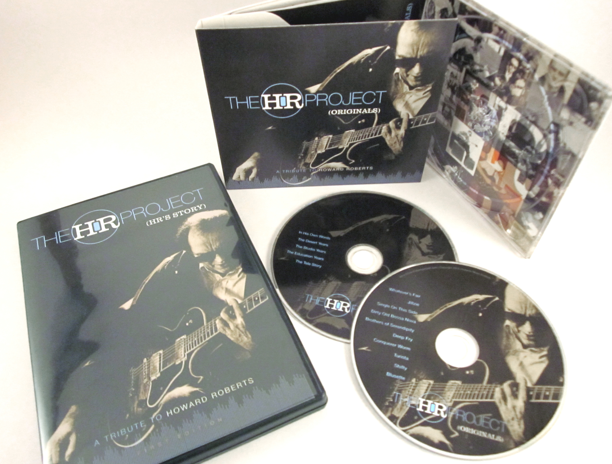 The HR Project CD & DVD Package