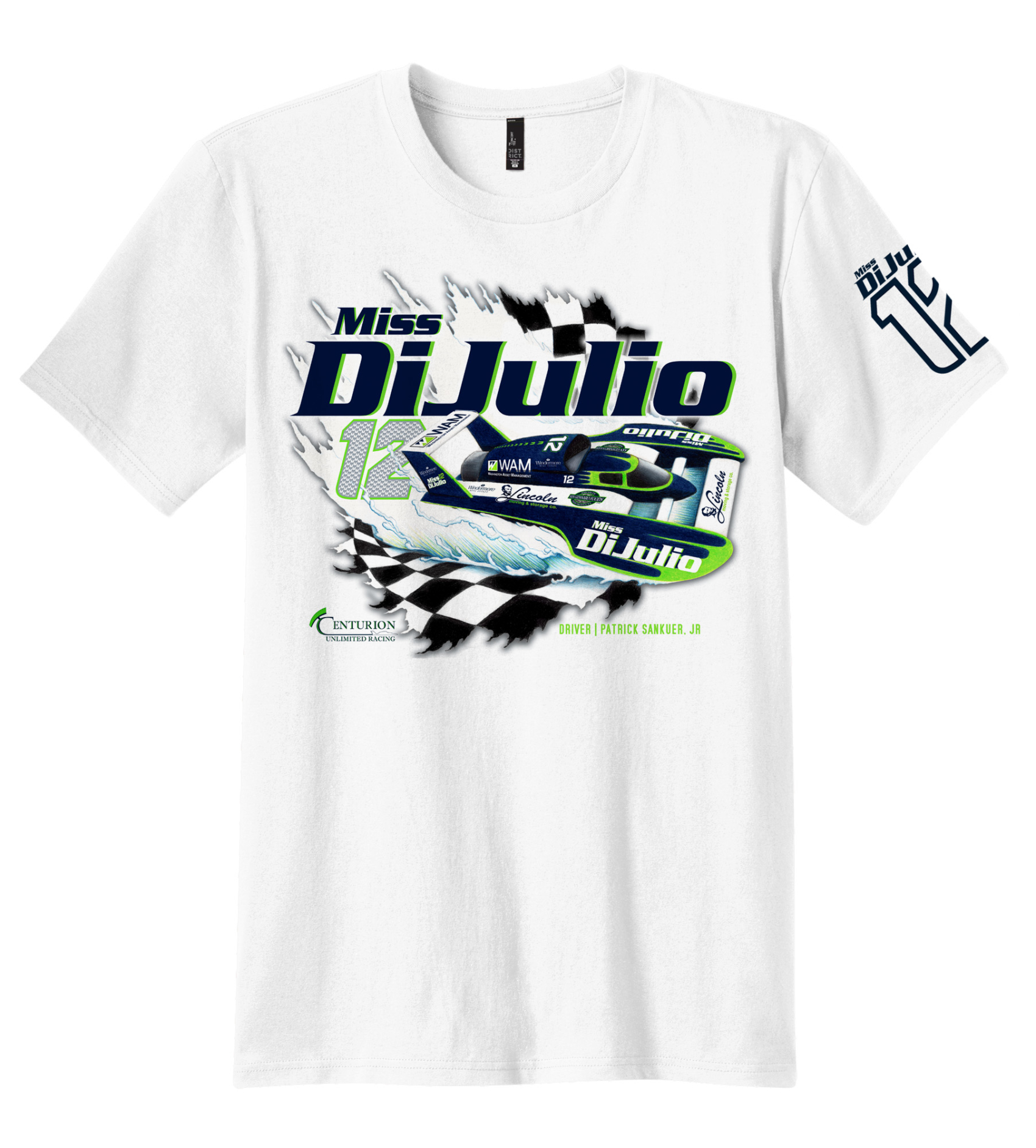 Miss DiJulio Tee Shirt Design